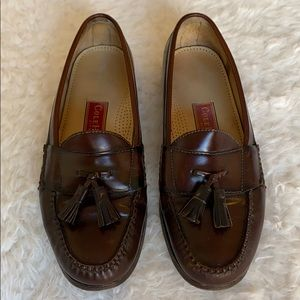 Cole Haan City Tassel Leather Loafers size 10.5 E